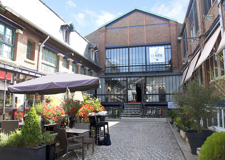 Bâtiment école Amiens et ancienne manufacture