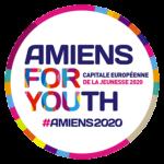 Logo Amiens capitale européenne de la jeunesse 2020