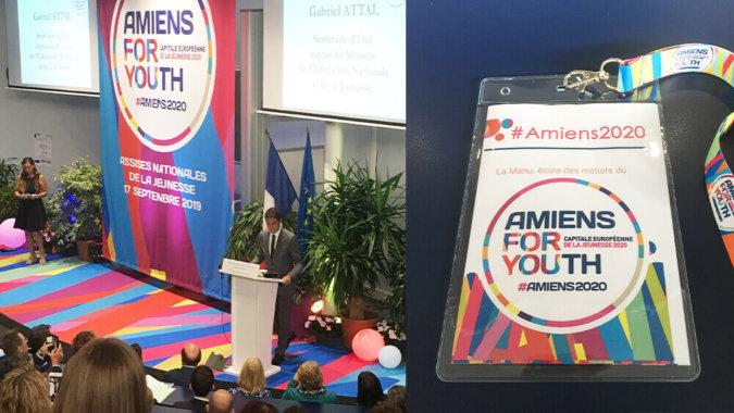 Amiens 2020 capitale européenne de la jeunesse