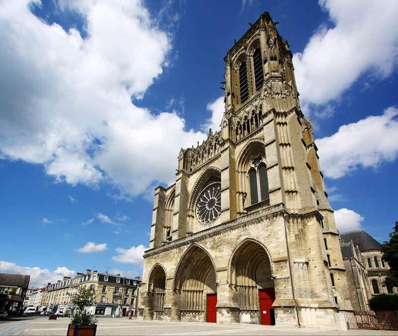 Cathédrale de Soissons en France