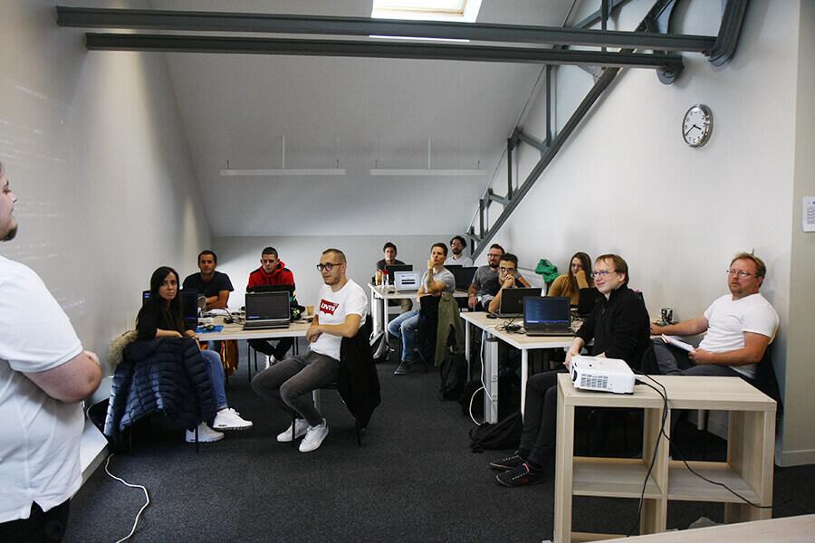 Élevés en formation numérique au Havre