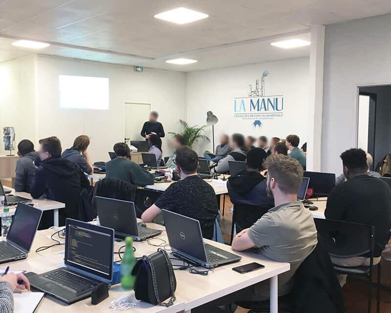 Entreprise partenaire à l'école du numérique à Amiens