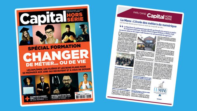 Magazine Capital hors série spécial formation