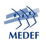 Logo MEDEF mouvement entreprises France formation