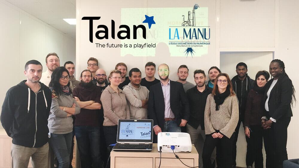 Entreprise Talan avec la formation digitale à Amiens