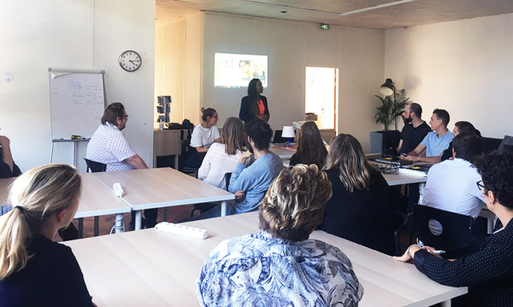 Entreprise partenaire rencontre formation à Amiens