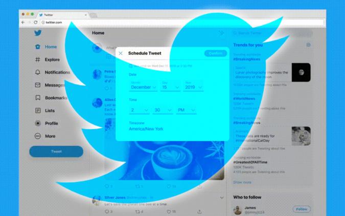 Twitter teste la programmation des tweets