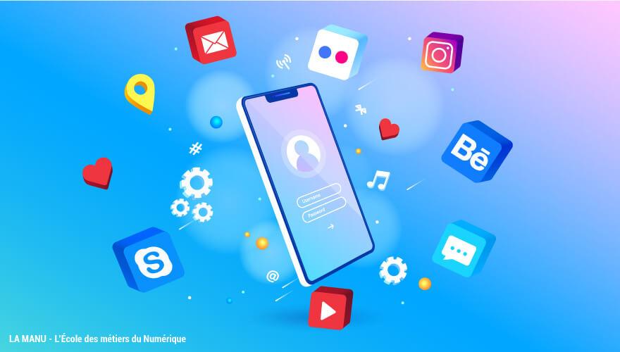 Developpement web mobile en formation numérique