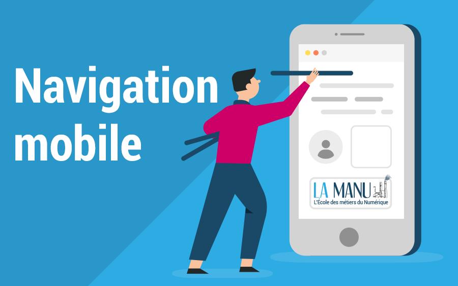 Améliorer navigation mobile du site web