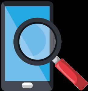 Recherche formation sur mobile