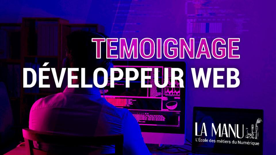 Témoignage développeur web en formation