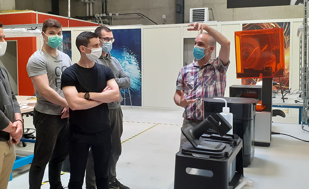 Visite Makerspace Noyon - espace numérique