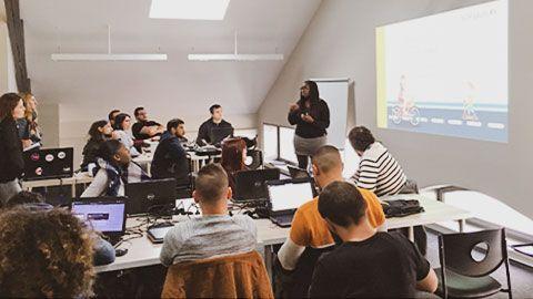 Promotion developpeur web Le Havre