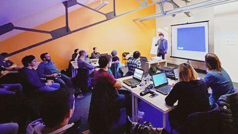 Rencontre entreprise et developpeurs
