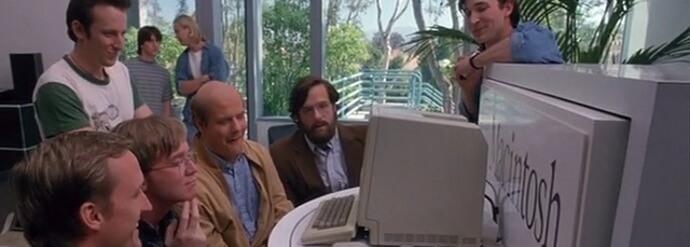 Film informatique les pirates de la Silicon Valley