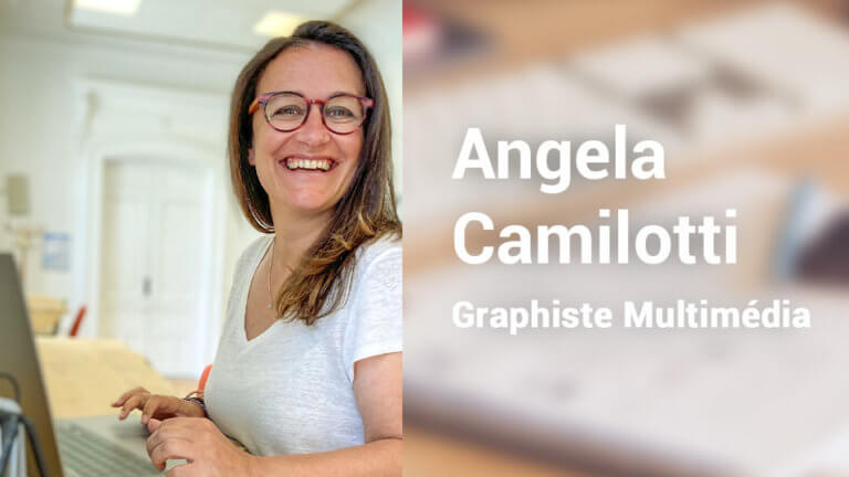 Angela Camilotti Graphiste Multimédia en freelance