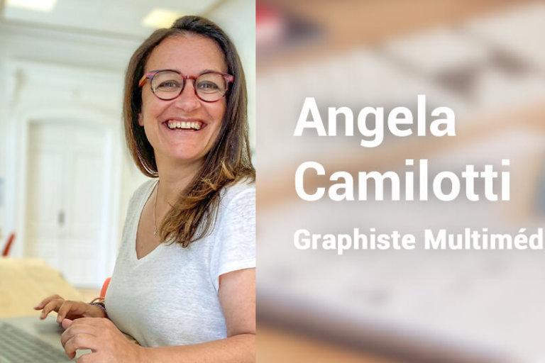 Angela Camilotti Graphiste Multimédia en freelance