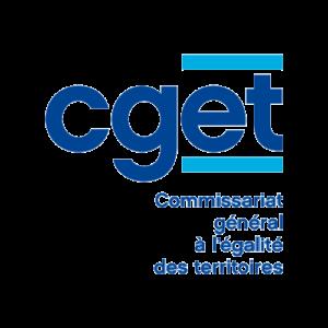 Logo CGET Commissariat général à l'égalité des territoires