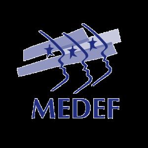 Logo Medef syndicat entreprise