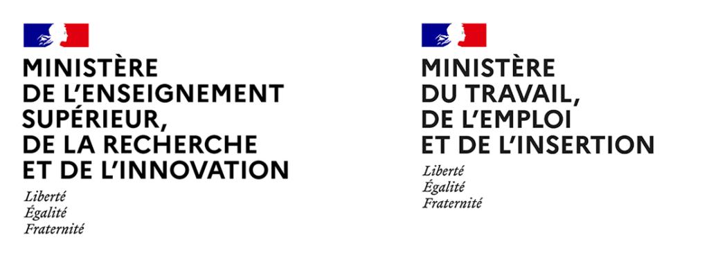 Ministères du Travail et de l'Enseignement supérieur