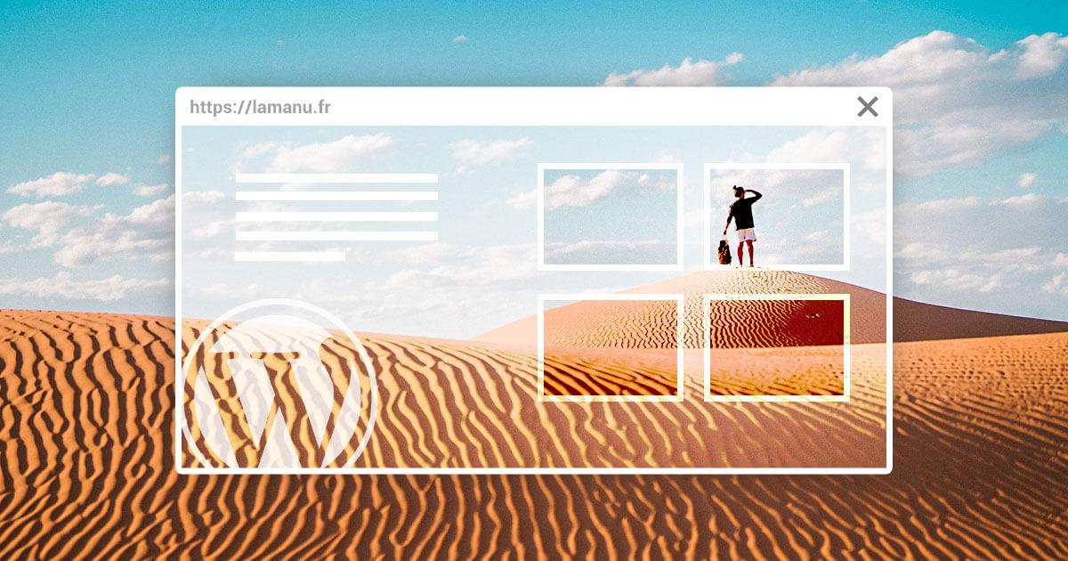 Formation pour créer son site web avec Wordpress