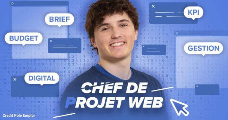 Métier Chef de projet web - vidéo Micode Pôle Emploi