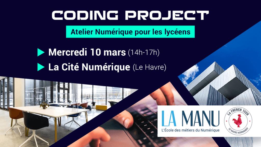 Atelier Numérique avec French Tech Le Havre et l'école La Manu