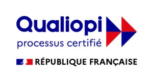 Logo de la certification Qualiopi pour l'organisme de formation La Manu